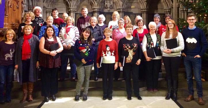 Christmas Concert Rehersals