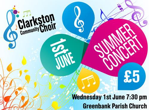 Choir Summer Concert in Clarkston