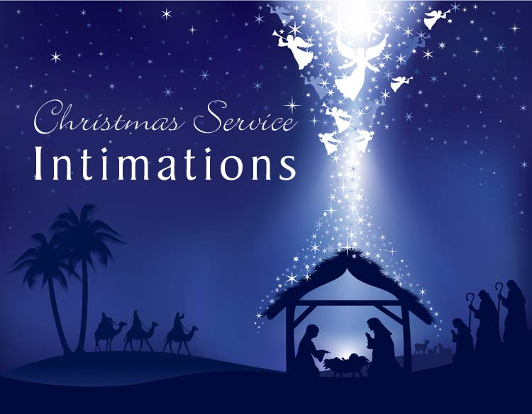 Christmas Service and Intimations at Greenbank Church Clarkston