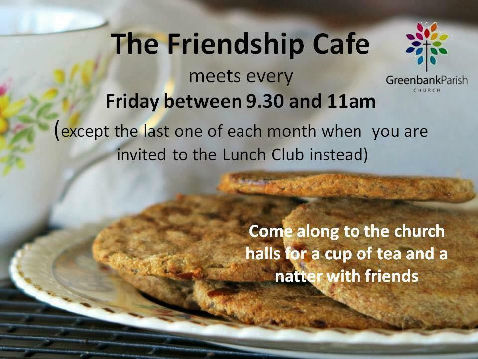 Friendship Cafe in Clarkston East Renfrewshire