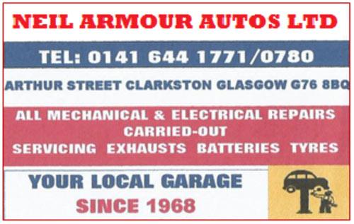 Neil Armour Autos