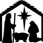 Christmas Nativity Scence at Greenbank Church, Clarkston