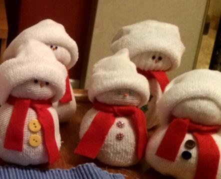 Fundraising Snowmen