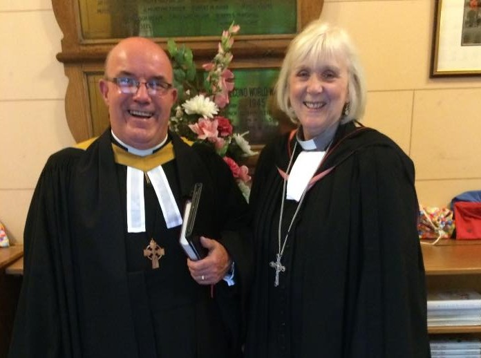 Minister Installed as Moderator