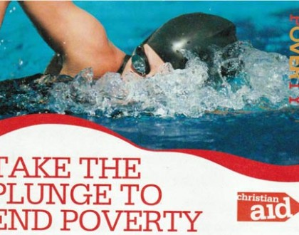 Christian Aid Sponsored Swim