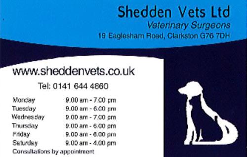 Shedden Pets
