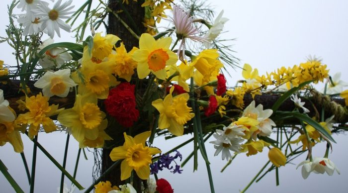Flowering of the Easter Corss at Greenbank Church Clarkston