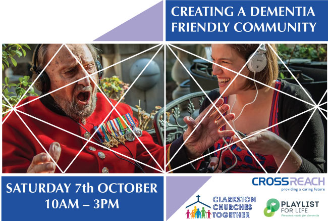 CREATING A DEMENTIA FRIENDLY COMMUNITY in Clarkston East Renfrewshire