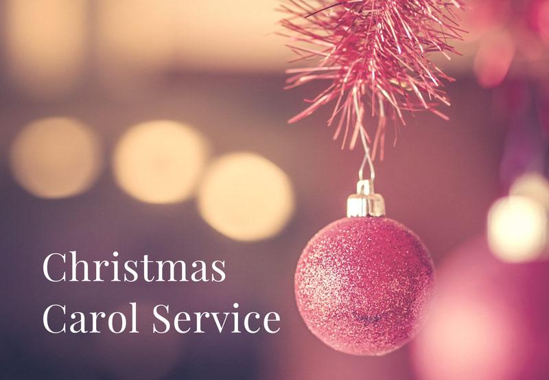 Christms Carol Service at Greenbank Church, Clarkston