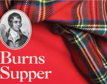 Burns Supper at Greenbank Church
