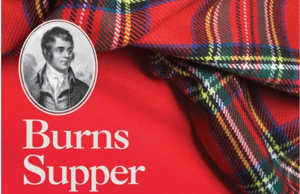 Burns Supper at Greenbank Church