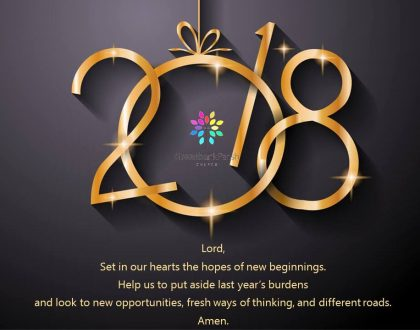 Happy New Year from all at Greenbank Church in Clarkston