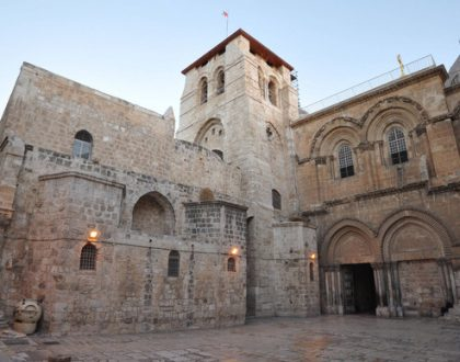 holy sepulchre jerusalem in the ministers message