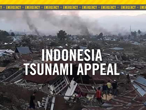 Greenbank Church Donation to Indonesia Tsunami Appeal