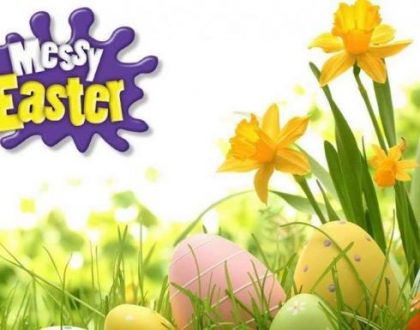 Messy Easter Message