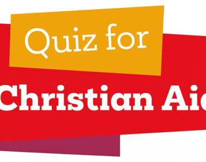 Christian Aid week quiz hosted by Mark Allan